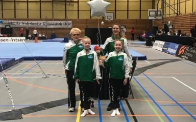 Turnsters SV Clias op halve finale NK in Rotterdam